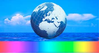 icon globe rainbow no text